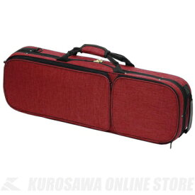 Carlo Giordano OBL-170 4/4 (RED)《バイオリン用軽量セミハードケース》【送料無料】