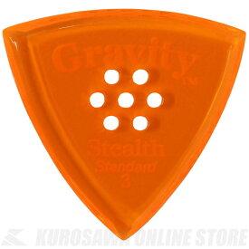 GRAVITY GUITAR PICKS GSSS3PM (3.0 mm with Multi-Hole, Orange) 《ピック》【ネコポス】