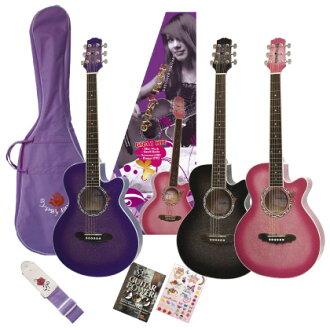 GYPSYROSE acoustic guitar set GRA1K
