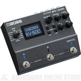 BOSS RV-500 (エフェクター/リバーブ)(送料無料)(7月8日発売・ご予約受付中)