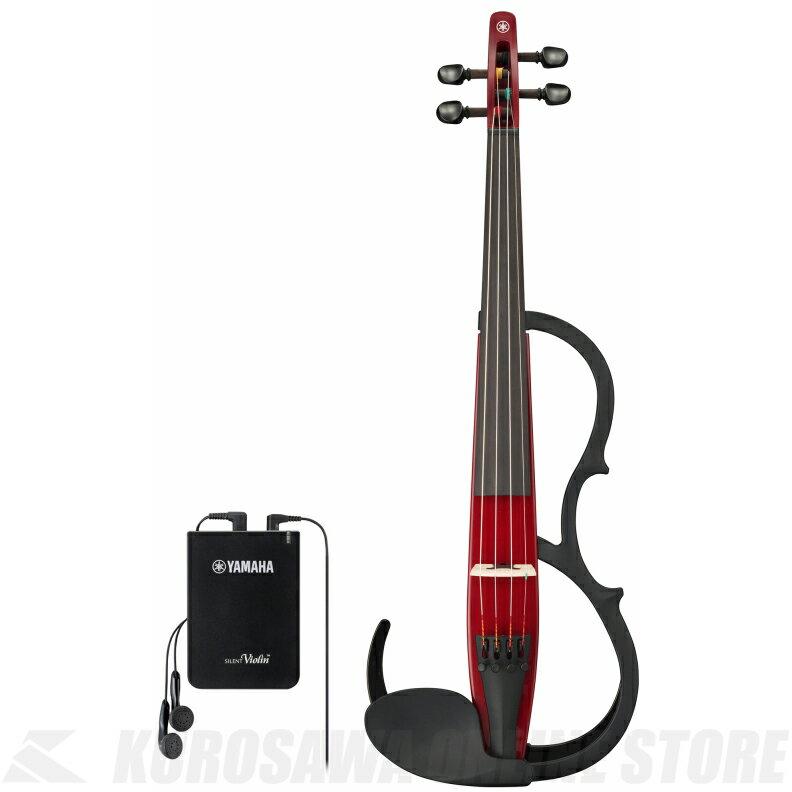 YAMAHA Silent Violin YSV104S RD 弓・ハードケース・松脂付きセット 《サイレントバイオリン》 【ご予約受付中】【送料無料】