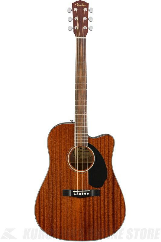 Fender CD-60SCE All-Mahogany [0961705021] (アコースティックギター)(送料無料)