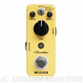 Mooer / Acoustikar (エフェクター/アコースティックシミュレーター)(ご予約受付中)