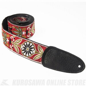 """Henry Heller 2.0"""" deluxe jacquards Series 2"""" Deluxe Jacquard Guitar Strap [HJQ2-01] (ストラップ)(送料無料)"""