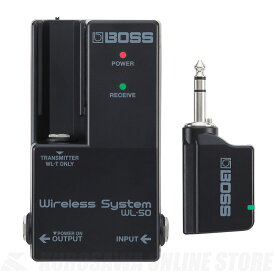 BOSS WL-50 (Guitar Wireless System)[WL-Series]【ご予約受付中】