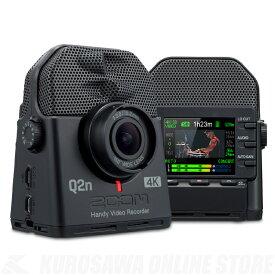 ZOOM Q2n-4K《ハンディビデオレコーダー》【送料無料】(ご予約受付中)