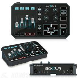 TC HELICON GO XLR [4chミキサー搭載/電動フェーダー/サウンドボード/ボーカルエフェクト](ご予約受付中)