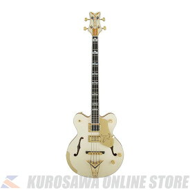 Gretsch G6136B-TP Tom Petersson Signature Falcon 4-String Bass Aged White