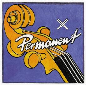 Permanent パーマネント チェロ弦 A線 スチール/クロムスチール巻