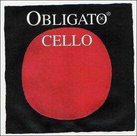 Pirastro Obligato オブリガート チェロ弦 G線 シンセティック/クロムスチール巻