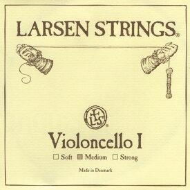 Larsen ソリスト チェロ弦 A線 スチール/クロムスチール巻