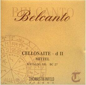 Thomastik Infeld Belcanto ベルカント チェロ弦 G線 スチール/クロムスチール巻