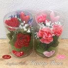 母の日花造花ハーティーローズアーティフィシャルフラワープレゼント贈り物ギフトお祝い[md]