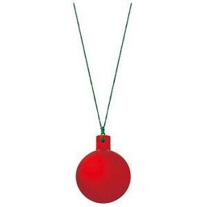 40mmフロストユニボール ワイヤー付 フロストレッド(6ケ/パック) 装飾 デコレーション クリスマス Xmas[A-B]