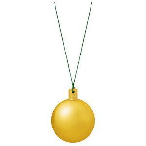 50mmフロストユニボール ワイヤー付 フロストゴールド(6ケ/パック) 装飾 デコレーション クリスマス Xmas[A-B]