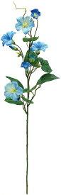 【12個から注文可能】朝顔スプレー BLUE(造花 花材 アートフラワー)