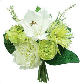 【12個から注文可能】ガーベラ/アマリリスブーケ (造花 花材 アートフラワー)