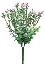 【12個から注文可能】ミニフラワーブッシュ PINK(造花 花材 アートフラワー)