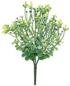【12個から注文可能】ミニフラワーブッシュ YELLOW(造花 花材 アートフラワー)