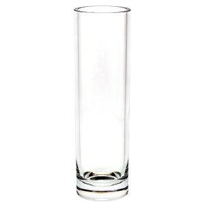 ポリカーボネート 花器 花瓶 PVシリンダー H30 CL(クリアー) φ8×H30cm プラスチック 透明 割れにくい ガラスのような 安全 耐衝撃 丈夫