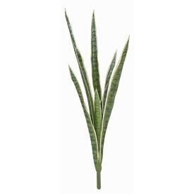 【人工観葉植物】サンセベリアブッシュ S グリーン/ホワイト サンスベリア 78cm 【観葉植物 造花 フェイクグリーン 光触媒 CT触媒 インテリア】[G-L]