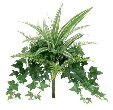 ドラセナアソートブッシュ【観葉植物 造花 SC(CT)触媒・光触媒 フェイクグリーン】[G-L]
