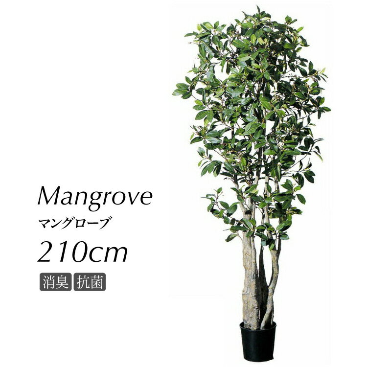 フェイクグリーン 大型 マングローブ 210cm 鉢植