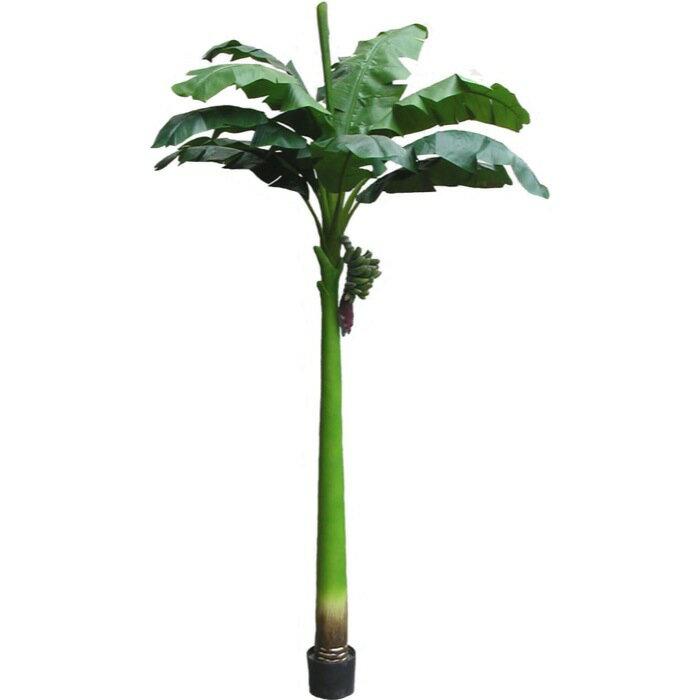 【送料無料】バナナ 240cm 【観葉植物 造花 CT触媒/光触媒 フェイクグリーン】[W-S]