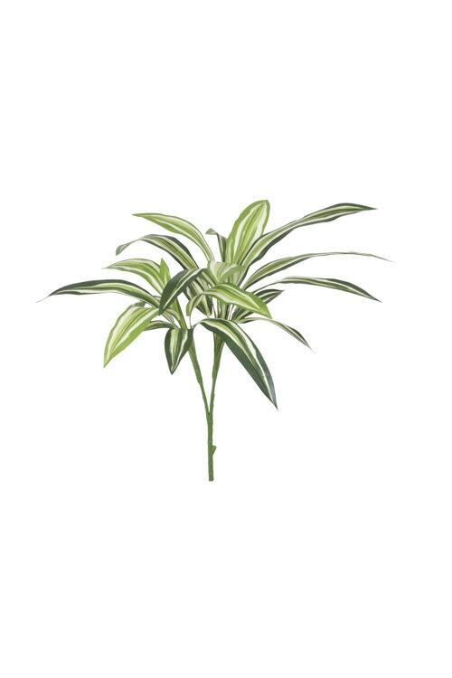 ドラセナ(グリーン)(フェイクグリーン 人工観葉植物 光触媒対応 インテリア)