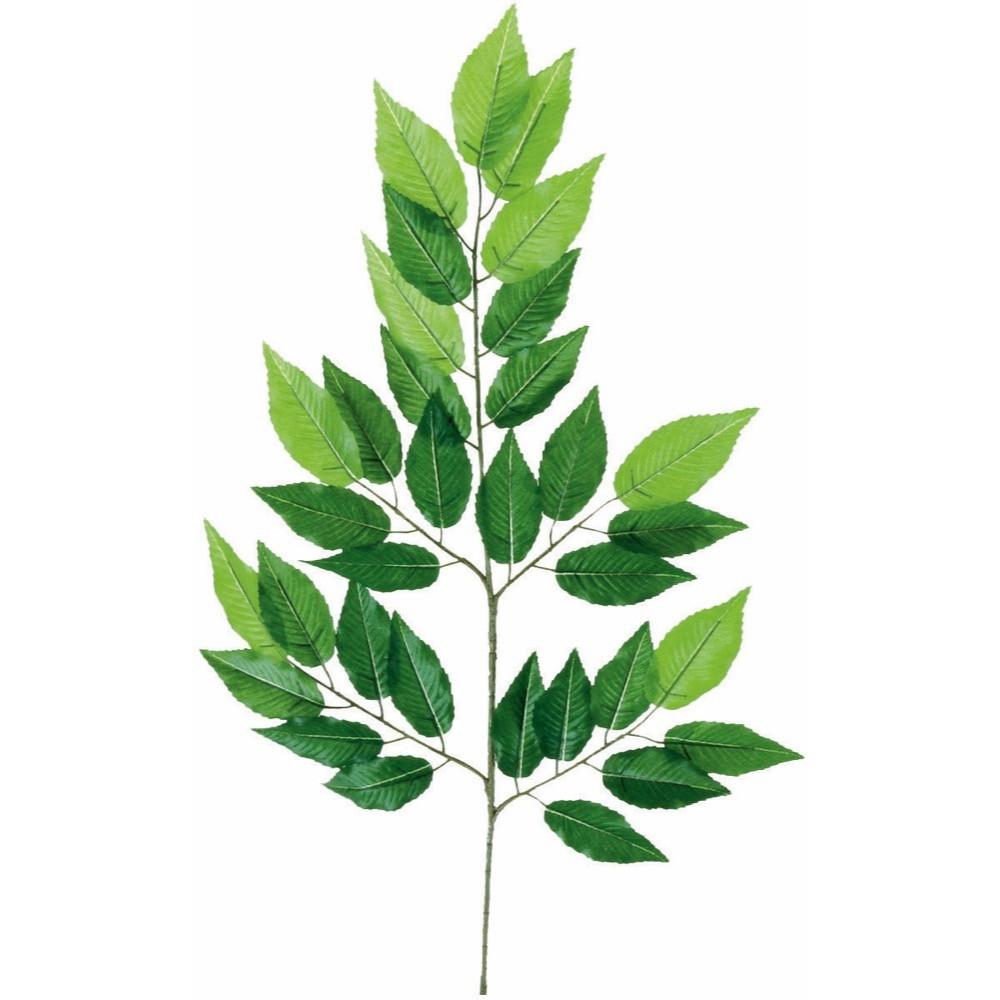 【観葉植物 造花】ケヤキ 64cm 欅 スプレイ 枝 【人工観葉植物 フェイクグリーン 光触媒 CT触媒 インテリア】