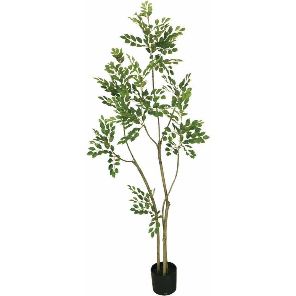【観葉植物 造花】トネリコ 150cm 樹木 【フェイクグリーン 大型 人工観葉植物 光触媒 CT触媒 インテリア】