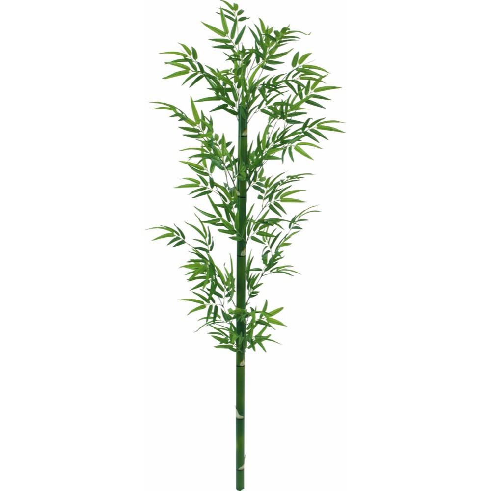 【人工観葉植物 大型 七夕用 竹 笹】バンブー 180cm 竹 【観葉植物 造花 フェイクグリーン 光触媒 CT触媒 インテリア】