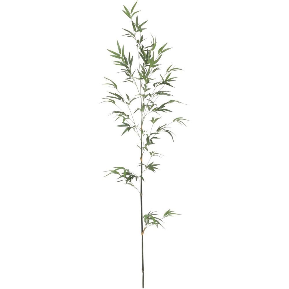 【人工観葉植物 大型 七夕用 竹 笹】バンブー 195cm 竹 【観葉植物 造花 フェイクグリーン 光触媒 CT触媒 インテリア】