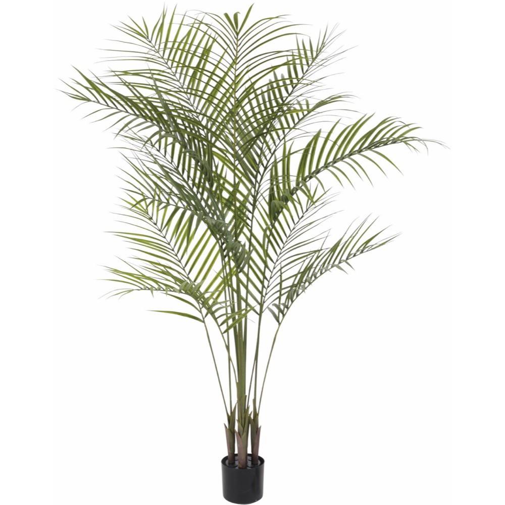 【人工観葉植物】屋外対応 アレカパーム 150cm アレカヤシ 樹木 【観葉植物 造花 大型 フェイクグリーン 光触媒 CT触媒 インテリア】