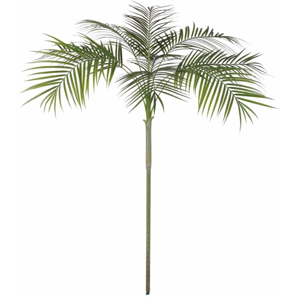 【観葉植物 造花 大型】屋外対応 アレカパーム 210cm アレカヤシ 樹木 【人工観葉植物 フェイクグリーン 光触媒 CT触媒 インテリア】