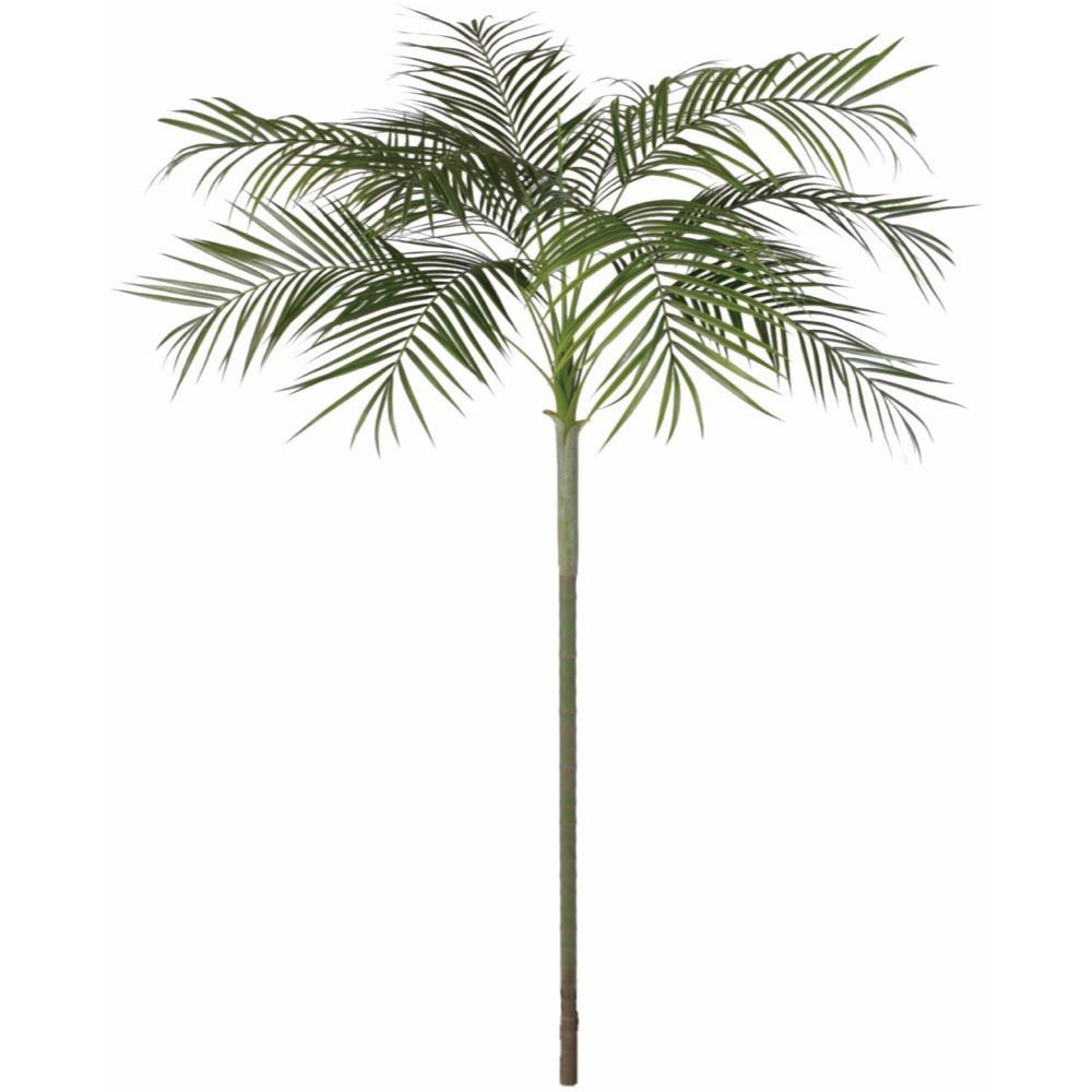 【人工観葉植物 大型】屋外対応 アレカパーム 240cm アレカヤシ 樹木 【観葉植物 造花 フェイクグリーン 光触媒 CT触媒 インテリア】