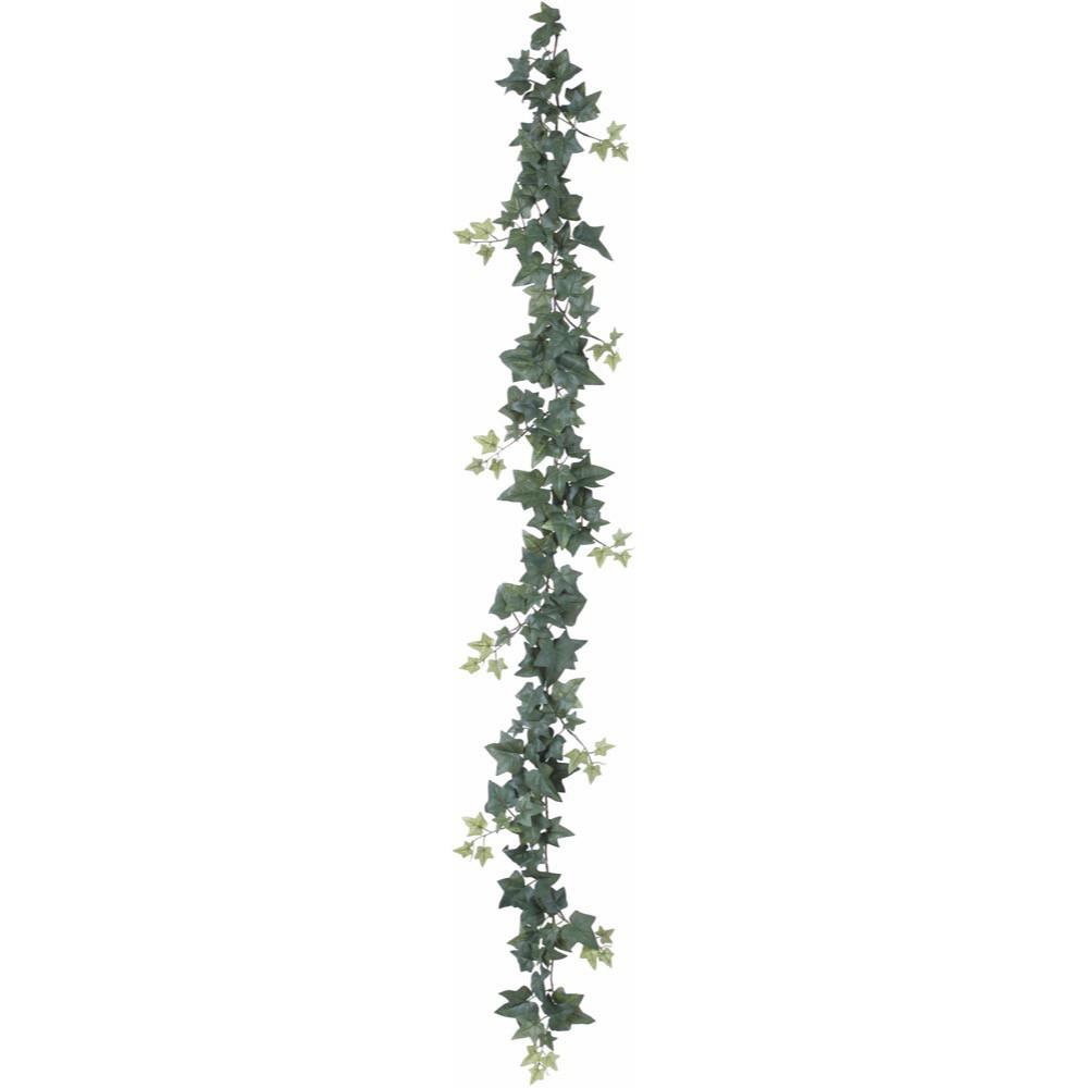 【観葉植物 造花】セージアイビー 180cm ガーランド 【フェイクグリーン 人工観葉植物 光触媒 CT触媒 インテリア】