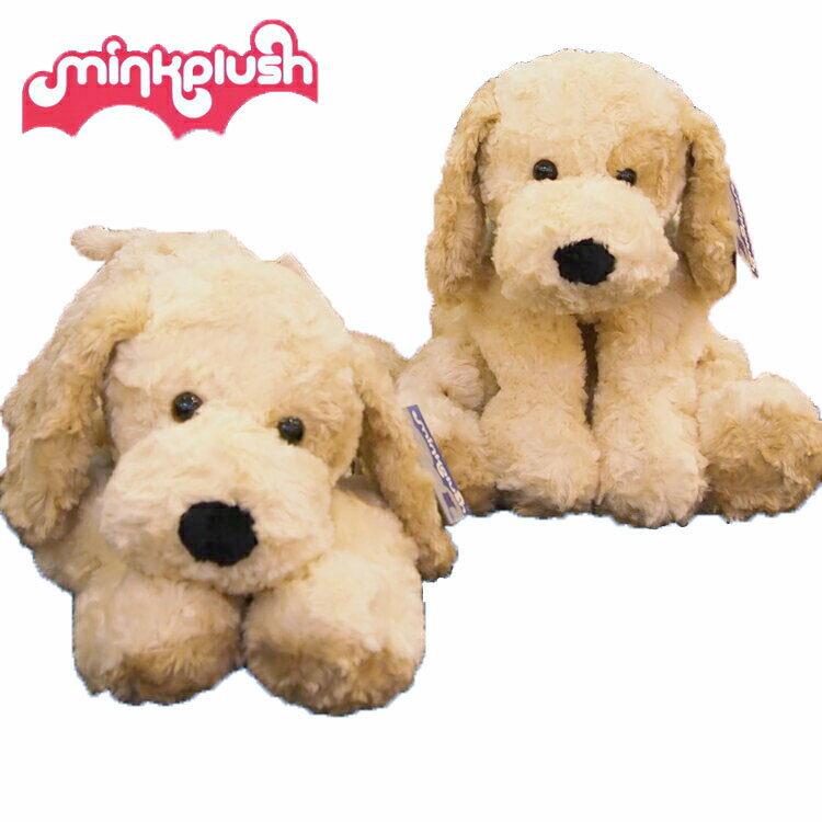 【ベビー ぬいぐるみ】【ヌイグルミ】犬のマドリン50cm【いぬ】【イヌ】【洗えるヌイグルミ】【mink plush】【ミンクプラッシュ】