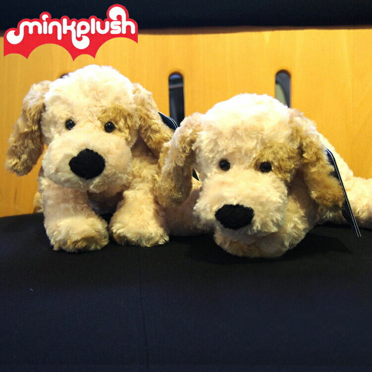 【ベビー ぬいぐるみ】【ヌイグルミ】犬のメイソン30cm(mason)【いぬ】【イヌ】【洗えるヌイグルミ】【mink plush】【ミンクプラッシュ】
