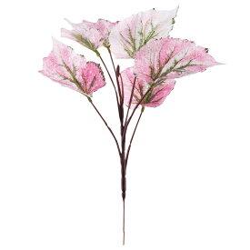 【6個から注文可能】人工観葉植物 フェイクグリーン 観葉植物 造花 レックスベゴニア 35cm インテリア おしゃれ フェイク グリーン CT触媒 消臭 抗菌