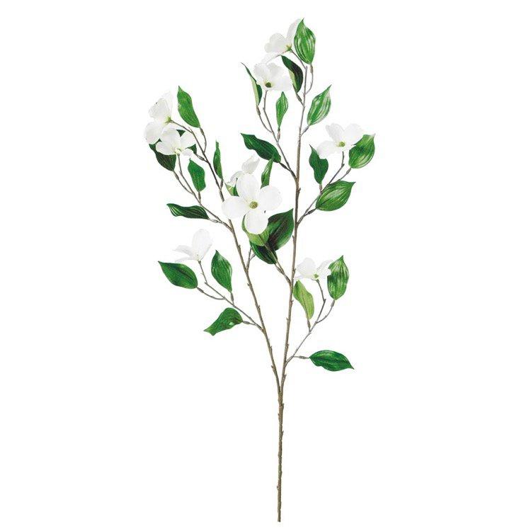 【フェイクグリーン】 ハナミズキ 【観葉植物 造花 人工観葉植物 光触媒 CT触媒 インテリア】