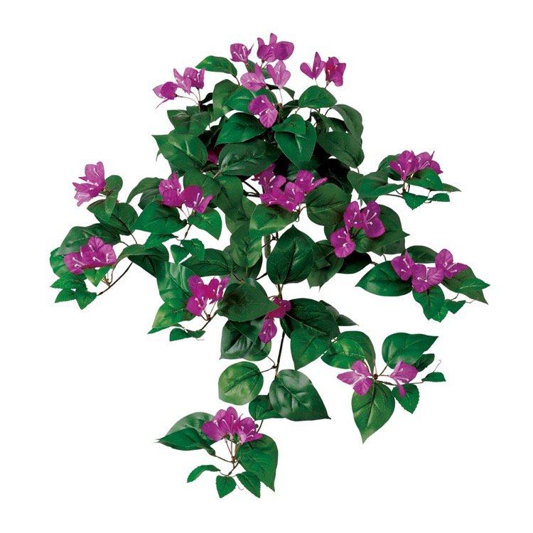 【人工観葉植物】 ブーゲンビレアハンギング (ブーゲンビリア) 【観葉植物 造花 フェイクグリーン 光触媒 CT触媒 インテリア】