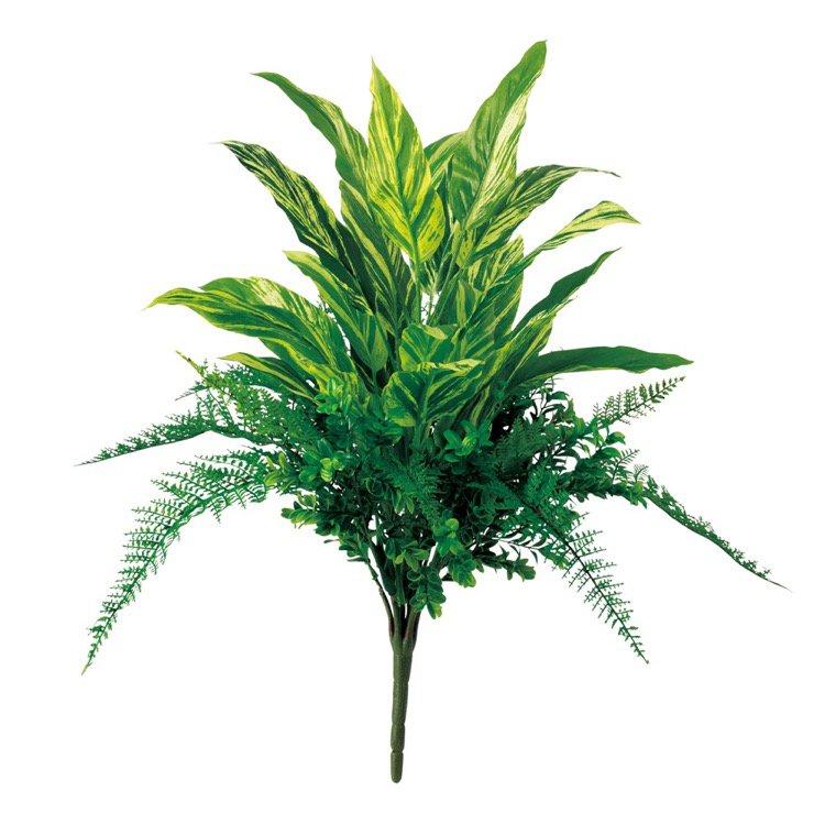 【フェイクグリーン】 コルディリネMIXブッシュ 50cm 【観葉植物 造花 人工観葉植物 光触媒 CT触媒 インテリア】
