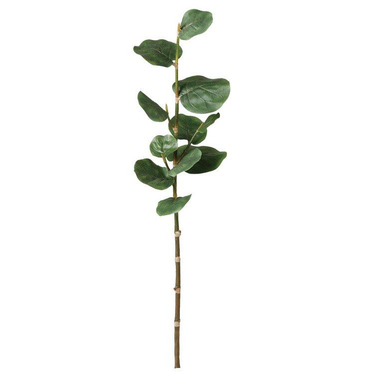 【観葉植物 造花】 シーグレープ ブランチ M 【フェイクグリーン 人工観葉植物 光触媒 CT触媒 インテリア】