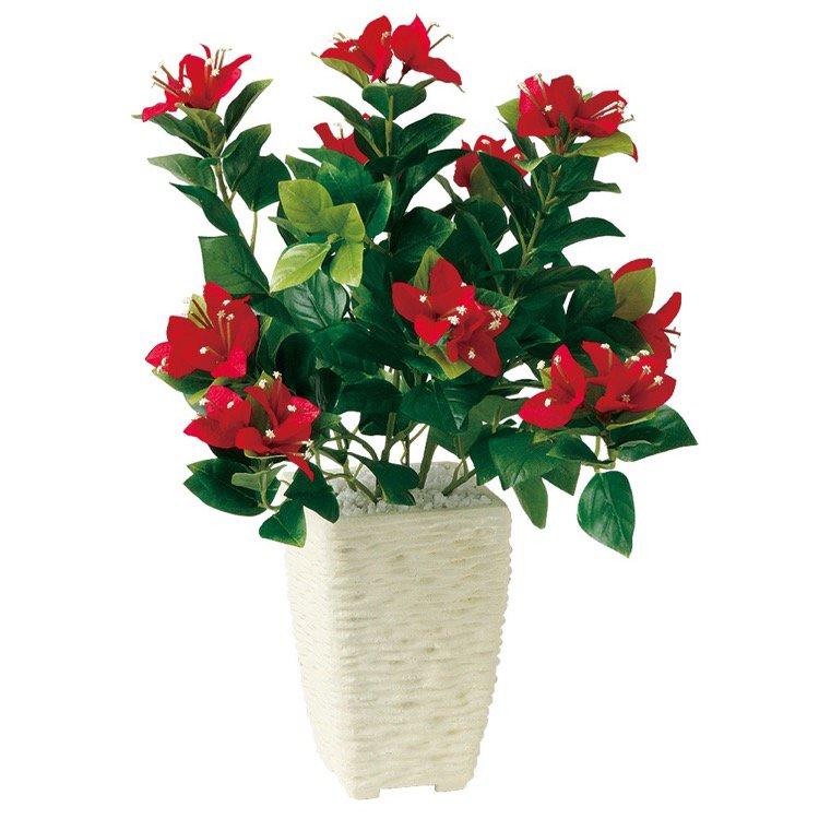 【フェイクグリーン】 ブーゲンビレア S (ブーゲンビリア) 【観葉植物 造花 人工観葉植物 光触媒 CT触媒 インテリア】