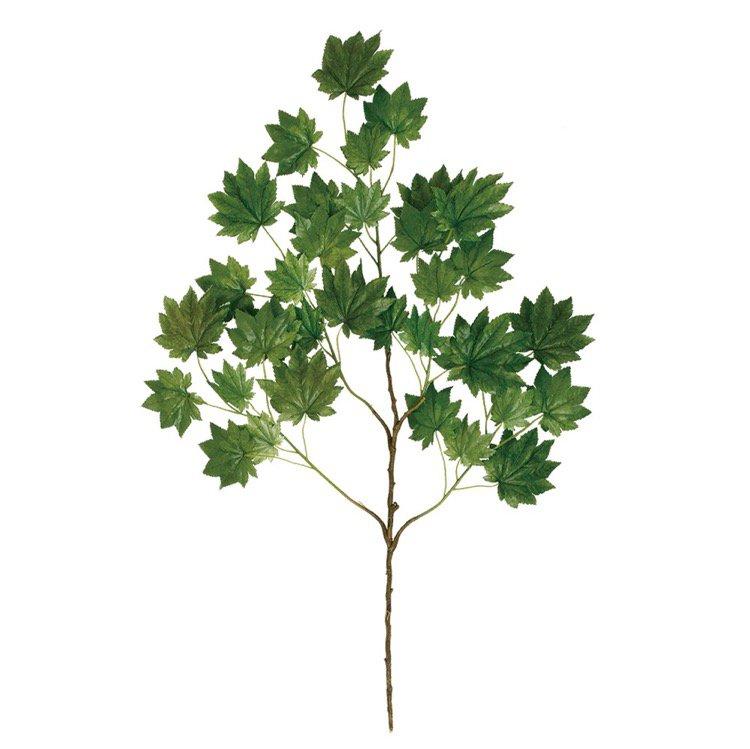 【人工観葉植物】 カエデ スプレー 【フェイクグリーン 観葉植物 造花 光触媒 CT触媒 インテリア】