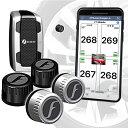 【売れ筋】FOBO Tire 2 TPMS 空気圧センサー 車 スマホでチェック タイヤ空気圧監視システム 取付簡単 防水 技適取得 …