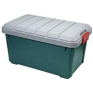 収納ボックス 収納ケース ボックス アイリスオーヤマ RV BOX(RVボックス)600ダークグリーン コンテナボックス アウトドア カートランク 屋外収納 灯油 収納用品 ガレージ収納 トランク 釣り 工