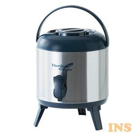 ステンレスジャグ5.8L ネイビー NE660飲料タンク 保冷 保温 水入れ 5.8L ノースイーグル アウトドア シンプル キャンプ ノースイーグル 【D】