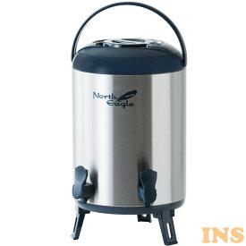 ステンレスジャグ11.8Lダブルコック ネイビー NE662飲料タンク 保冷 保温 水入れ 11.8L ノースイーグル アウトドア 2口 キャンプ ノースイーグル 【D】